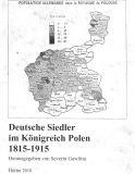 Deutsche Siedler im Königreich Polen 1815-1915 – 2010